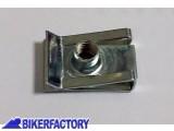 BikerFactory Kit 10 pz. RICETTACOLI a molla fermaglio %28 gabbiette metalliche %29 in acciaio per fissaggio carena moto. BKF.00.5001 1034550