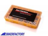 BikerFactory Set viti testa cilindrica Assortite 100 pezzi.  %23129b%23 STM.ST.680.10000 S 1016936