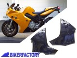BikerFactory Carena motore %28spoiler%29 Inferiore e Puntale PYRAMID colore Night Blue %28blu scuro%29 PY07.245000H 1032666