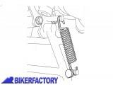BikerFactory Kit molle di ricambio per cavalletto SW MOTECH per Suzuki DL 650 VStrom ZFD.00.150.003 ST 1016097