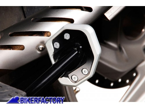 BikerFactory Base maggiorata SW Motech per cavalletto laterale BMW R 1200 GS Adventure STS.07.102.10000 S 1012662