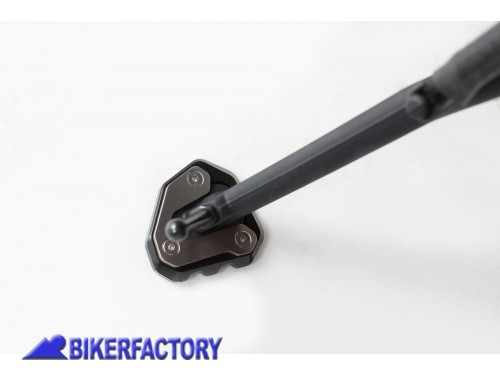 BikerFactory Base maggiorata SW Motech per cavalletto laterale KTM 1290 Super Duke GT %28%2716 %2718%29 STS.04.792.10000 1034744