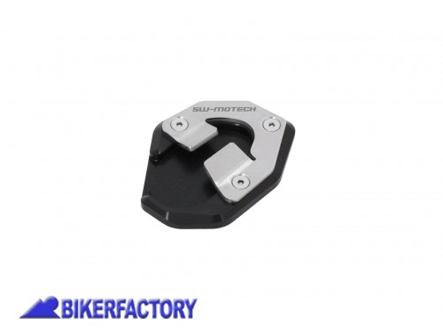 BikerFactory Base maggiorata SW Motech per cavalletto laterale KTM 1290 Super Duke R STS.04.915.10000 1044573