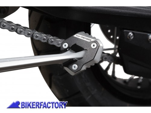 BikerFactory Base maggiorata SW Motech per cavalletto laterale TRIUMPH Tiger 800 XC XR %28%2710 %2717%29 STS.11.102.10000 S 1024316