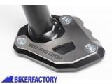BikerFactory Base maggiorata SW Motech x cavalletto laterale KTM 1190 Adventure KTM 1190 Adventure R%2C KTM 1050 Adventure%2C KTM 1290 Super Adventure STS.04.102.10100 B 1027879