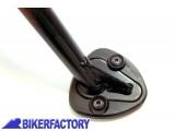 BikerFactory Base maggiorata per cavalletto laterale 0116 1001337