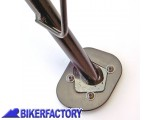 BikerFactory Base maggiorata per cavalletto laterale x BMW R 850 GS R 1100 GS BKF.07.0108 1001331