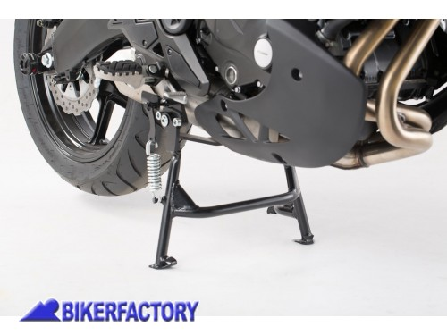 BikerFactory Cavalletto centrale SW Motech per KAWASAKI Versys 650 %28%2715 in poi%29 HPS.08.518.10002 B 1033134