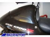 BikerFactory Poggiaschiena cuscinetto posteriore per modifica sella monoposto Pyramid PY05.10016 1033148