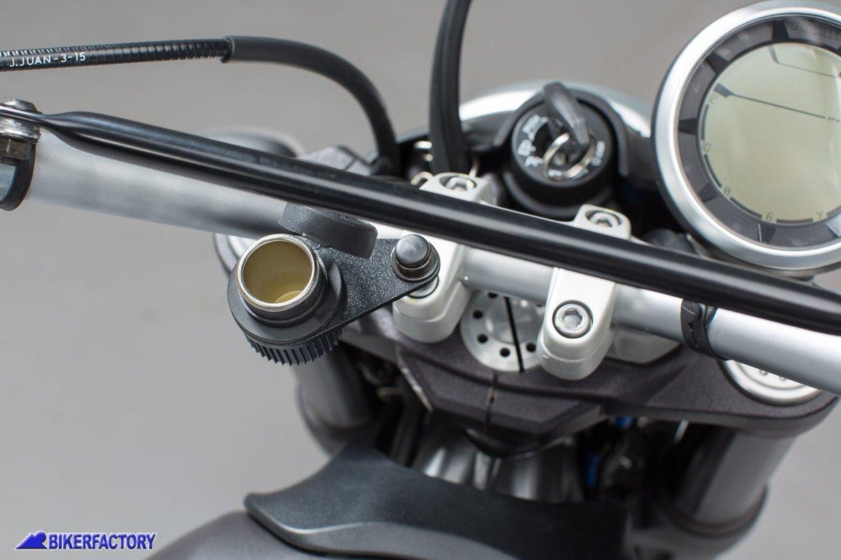 Color : Black 28 41mm XIAOFANG 28-41mm 41-51mm for Motocicletta del Motociclo Faro Staffa di Montaggio Supporto di Regolazione Forcella Monte Morsetto Nero Lampada Frontale