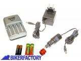 BikerFactory Caricabatterie %22Quick Set%22 %28%2B 4 pile stilo 2900 mAh%29 2890 1001575