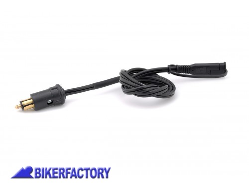 BikerFactory Adattatore SW Motech da presa normal outlet %28tipo BMW%29 a connettore SAE. Cavo 1 mt. EMA.00.107.10400 1024561