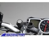 BikerFactory Doppia porta USB aggiuntiva SW Motech con cablaggio EMA.00.107.11300 B 1024130