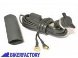 BikerFactory Kit presa di corrente normal plug %28tipo BMW piccola%29 SW Motech CPA.00.006.10000 B 1000201