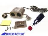 BikerFactory Sdoppiatore di presa accendisigari 2896 1001586