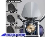 BikerFactory Cupolino parabrezza %28 screen %29 Gladiator%E2%84%A2 National cycle per Harley Davidson %5BAlt. 36%2C8 cm Largh. 31%2C8 cm ca.%5D N2702 1003036