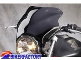 BikerFactory Cupolino parabrezza %28 screen %29 National Cycle F Series %E2%84%A2 F 16 mod. %22Short Dark%22 %5Balt. 26 cm larg. 26 cm%5D N2526 1026239