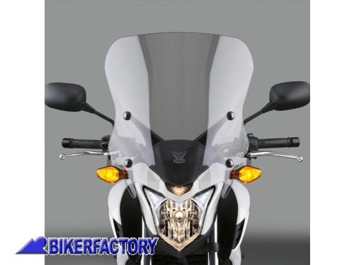 Parabrezza 5 per Harley-Davidson Ultra Limited Low 15-19 fum/è scuro