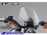 BikerFactory Cupolino parabrezza %28 screen %29 National cycle Gladiator%E2%84%A2 per Harley Davidson %5BAlt. 36%2C8 cm Largh. 31%2C8 cm ca.%5D N2704 1003038