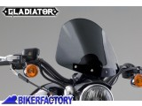 BikerFactory Cupolino parabrezza %28 screen %29 National cycle Gladiator%E2%84%A2 per Harley Davidson %5BAlt. 36%2C8 cm Largh. 31%2C8 cm ca.%5D N2707 1003041