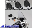 BikerFactory Cupolino parabrezza %28 screen %29 National cycle Gladiator%E2%84%A2 per Harley Davidson %5BAlt. 36%2C8 cm Largh. 31%2C8 cm ca.%5D N2710 1003061