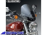 BikerFactory Cupolino parabrezza %28 screen %29 National cycle Gladiator%E2%84%A2 per Harley Davidson Sportster Custom %5BAlt. 36%2C8 cm Largh. 31%2C8 cm ca.%5D N2708 1003042