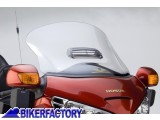 BikerFactory Cupolino parabrezza %28 screen %29 VSTREAM%C2%AE National Cycle Mod. RAINZip per Honda Goldwing 1800 %28%2701 %2717%29 %5BAlt. 55%2C9 cm Largh. 66%2C0 cm ca.%5D N20014 1001814