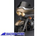BikerFactory Cupolino parabrezza %28 screen %29 VStream%C2%AE National cycle per Harley Davidson Road glide %5BAlt. 23%2C5 cm ca.%5D 1002903
