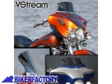 BikerFactory Cupolino parabrezza %28 screen %29 VStream%C2%AE x Harley Davidson Mod. Ultra Low National cycle %5BAlt. 18%2C4 cm Largh. 40%2C6 cm ca.%5D N20405 1002900