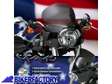 BikerFactory Cupolino parabrezza %28 screen %29 Wave QR%C2%AE National Cycle per Harley Davidson FLS Softail %5Balt. 31%2C8 cm largh. 46%2C3 cm ca%5D N21603 1016536