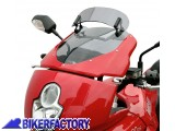 BikerFactory Cupolino parabrezza %28screen%29 MRA mod. Vario Touring x DUCATI Multistrada 620 DS %28%2705 in poi%29 Multistrada 1000 DS %28%2703 in poi%29 Multistrada 1100 DS %28%2705 in poi%29 %5Balt. 34 cm%5D col. Fum%C3%A8 1001967