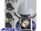 BikerFactory Cupolino parabrezza %28 screen %29 Gladiator%E2%84%A2 National cycle %5BAlt. 36%2C8 cm Largh. 31%2C8 cm ca.%5D N2700 1002920