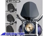 BikerFactory Cupolino parabrezza %28 screen %29 Gladiator%E2%84%A2 National cycle %5BAlt. 36%2C8 cm Largh. 31%2C8 cm ca.%5D N2701 1003035
