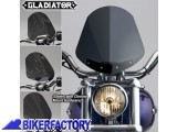 BikerFactory Cupolino parabrezza %28 screen %29 Gladiator%E2%84%A2 National cycle %5BAlt. 36%2C8 cm Largh. 31%2C8 cm ca.%5D N2703 1003037