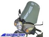BikerFactory Cupolino parabrezza %28 screen %29 alta protezione x APRILIA 125 Scarabeo GT %28h 50 cm%29 1020390
