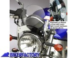 BikerFactory Cupolino parabrezza Flyscreen Mod. N2543 N2544 National cycle 1001780