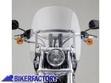 BikerFactory Cupolino parabrezza Spartan%C2%AE National cycle x Harley Davidson %5BAlt. 47%2C0 cm Largh. 41%2C3 cm ca.%5D N21301 1003067