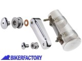 BikerFactory Kit di aggancio per cupolini parabrezza National cycle Stinger%2C Spartan%2C e Switchblade art. Kit Q203 Kit Q203 1002708