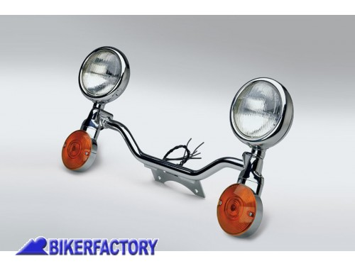 BikerFactory Barra Luci Cromata National Cycle N935 1004017