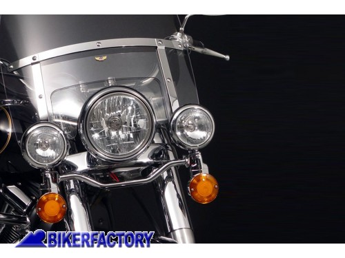 BikerFactory Barra Luci Cromata National Cycle per KAWASAKI VN2000 N945 1004025