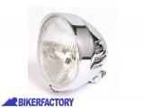 BikerFactory Faro anteriore rotondo mod. INDIAN STYLE %C3%B8 154 mm per SUZUKI VS 750 800 1400%2C LS 650%2C EN 500 e VZ 800 Marauder PW.00.222 082 1032530