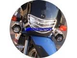 BikerFactory Faretti moto supplementari alogeni specifici con staffe x BMW F650 GS e PD %28%2700 %2707%29 1001619