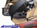 BikerFactory Faretti supplementari Xenon alogeni specifici con staffe X Aprilia Caponord 1003058