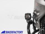 BikerFactory Kit Faretti SW Motech HAWK %2B staffe specifiche per aggancio a protezioni tubolari %C3%B8 22%2C 26%2C 27%2C 28 mm CONTROLLARE DIAMETRO TUBOLARE PRIMA DELL%27ACQUISTO%21 1029204