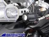 BikerFactory Kit Faretti SW Motech Hawk Off Road neri %2B staffe specifici per BMW F800GS F650GS Twin %28%2708 %2711%29 FAR.07.001.OFF B 1004214