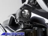 BikerFactory Kit Faretti SW Motech Hawk Off Road neri %2B staffe specifici per BMW R1200GS LC %282013 in poi%29. FAR.07.006.OFF B 1024330