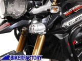 BikerFactory Kit faretti moto HAWK LED OFF ROAD %2B staffe specifiche per TRIUMPH Tiger Explorer 1200 %28%2712 in poi%29. 1019830