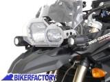 BikerFactory Kit faretti moto SW Motech HAWK LED OFF ROAD %2B staffe specifiche per BMW F 800 GS F 650 GS Twin %28%2708 %2711%29 FAR.07.001.LED B 1019575
