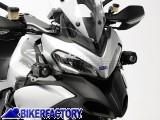 BikerFactory Kit faretti moto SW Motech HAWK LED OFF ROAD %2B staffe specifiche per DUCATI 1200 Multistrada. FAR.22.002.LED B 1024745