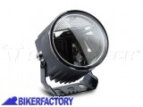 BikerFactory Faretti moto LED EVO FOG LIGHT SW Motech colore nero con cablaggio completo e interruttore NSW.00.770.10000 1035916